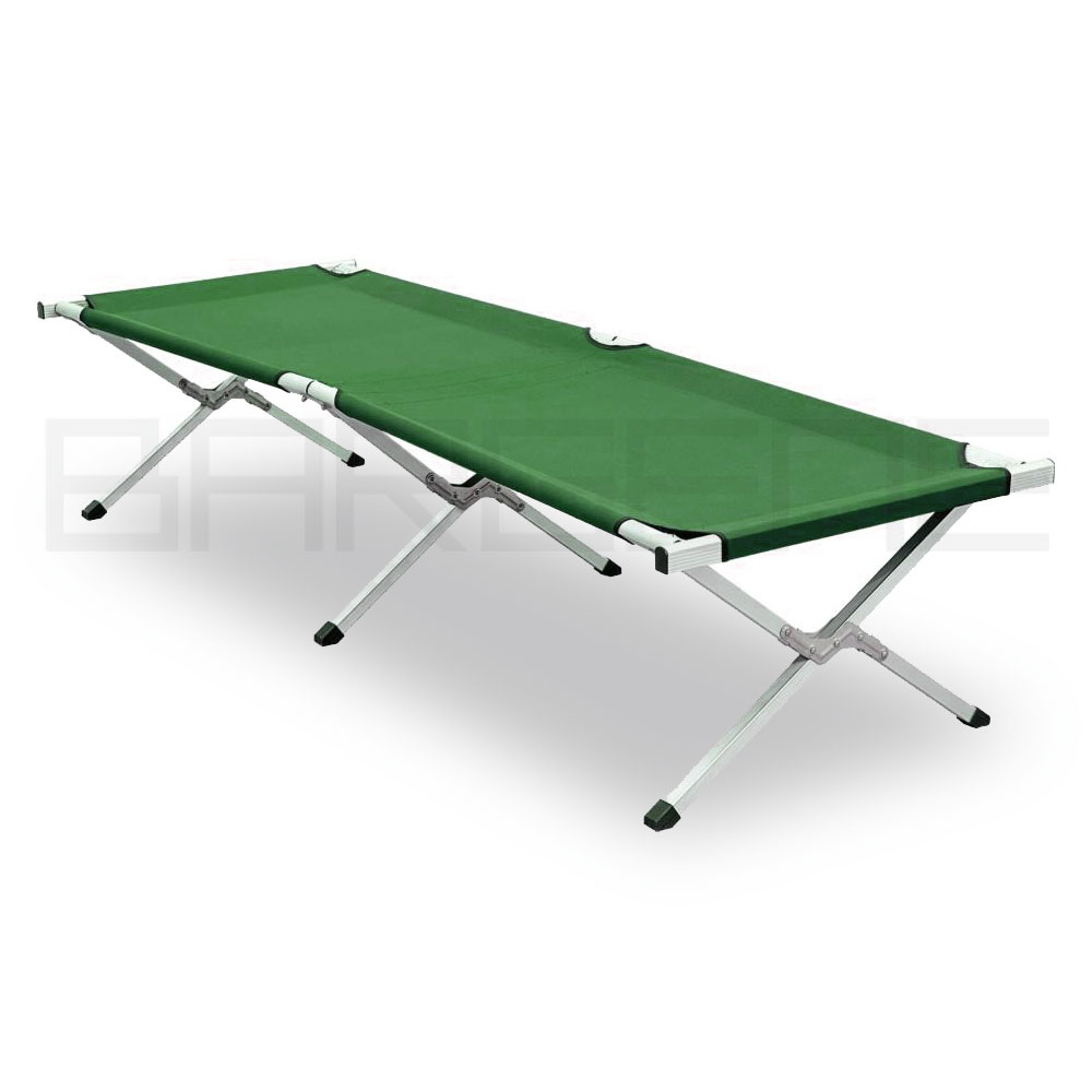 Camping Bed Folding Stretcher Light Weight With Carry Bag